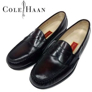 Cole Haan Pinch Penny Loafer Burgundy 9d